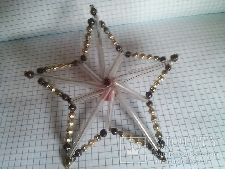 Старая елочная игрушка: Звезда. Цекляриус., фото №6