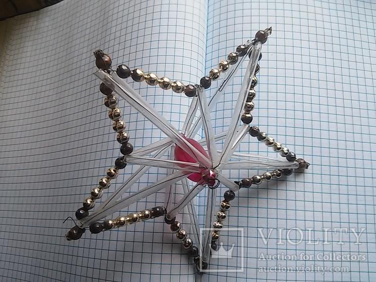 Старая елочная игрушка: Звезда. Цекляриус., фото №7