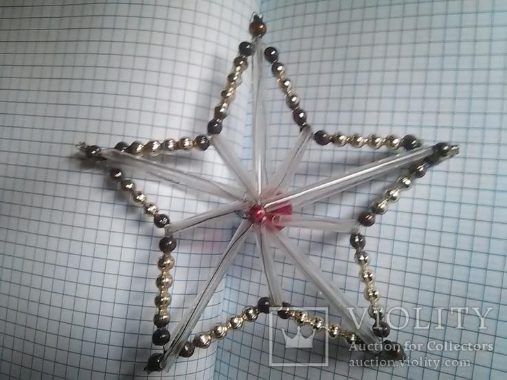 Старая елочная игрушка: Звезда. Цекляриус., фото №8