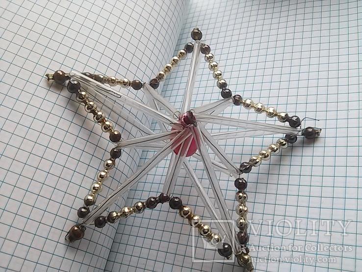 Старая елочная игрушка: Звезда. Цекляриус., фото №11