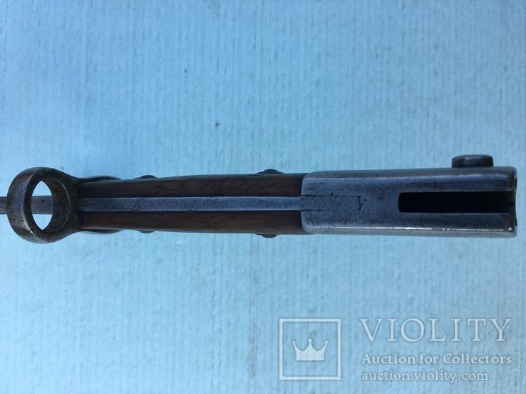 Штык-нож к винтовке Маузера для Бразилии, производства Simson&Co, Suhl, фото №13