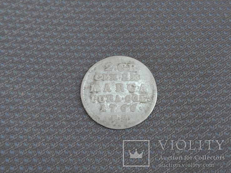 2 гроша 1766 р., фото №4