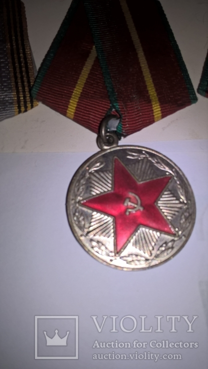 2  документа и 4 медали Ткачук В Ф на одного, фото №6