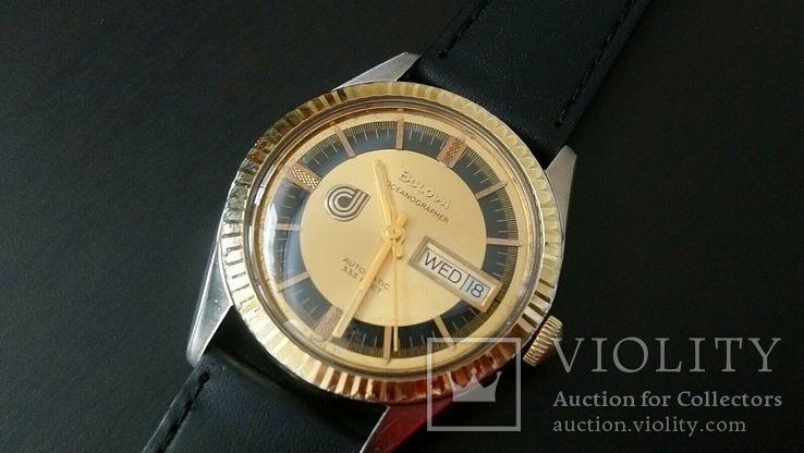 Часы 1974 Bulova Oceanographer 333