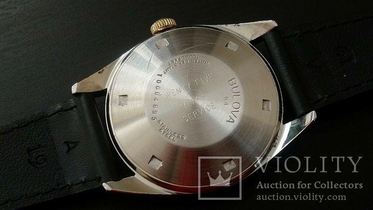 Часы 1974 Bulova Oceanographer 333, фото №5