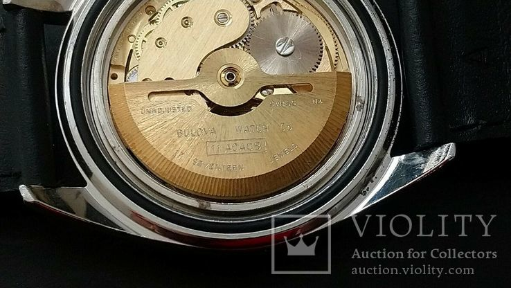 Часы 1974 Bulova Oceanographer 333, фото №7