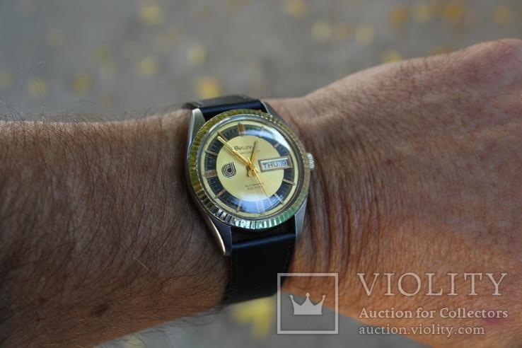 Часы 1974 Bulova Oceanographer 333, фото №8