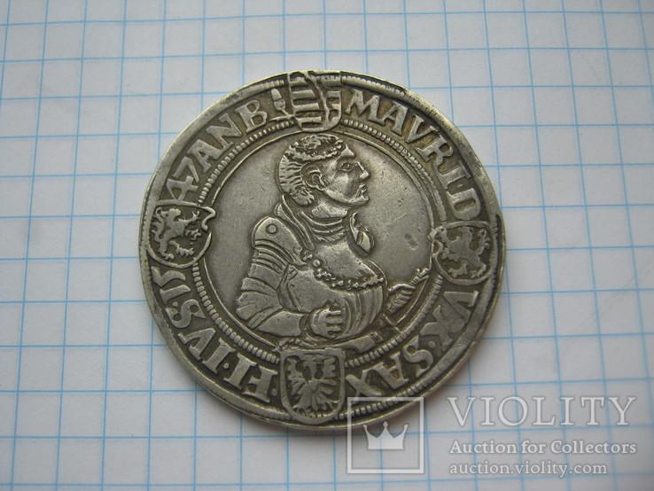 Талер Саксония 1547.