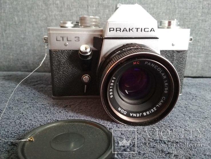 Фотоаппарат PRAKTIKA с объективом