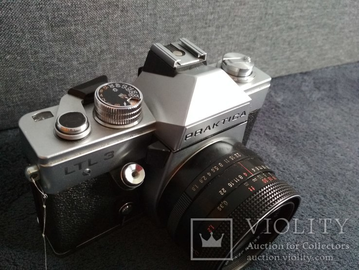 Фотоаппарат PRAKTIKA с объективом, фото №3