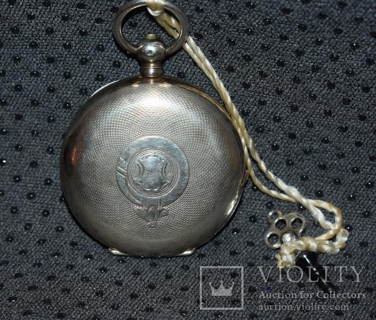 Часы Qualite Boutte серебро 84 проба крупные 121 грамм, фото №3