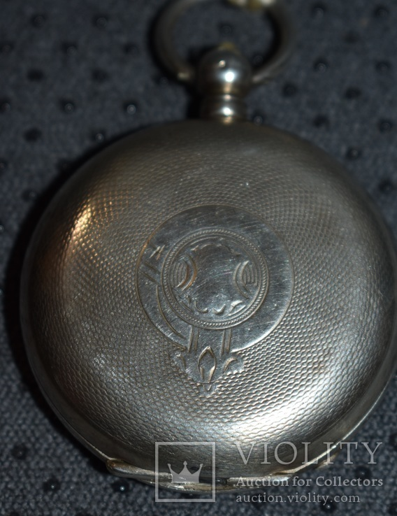 Часы Qualite Boutte серебро 84 проба крупные 121 грамм, фото №4