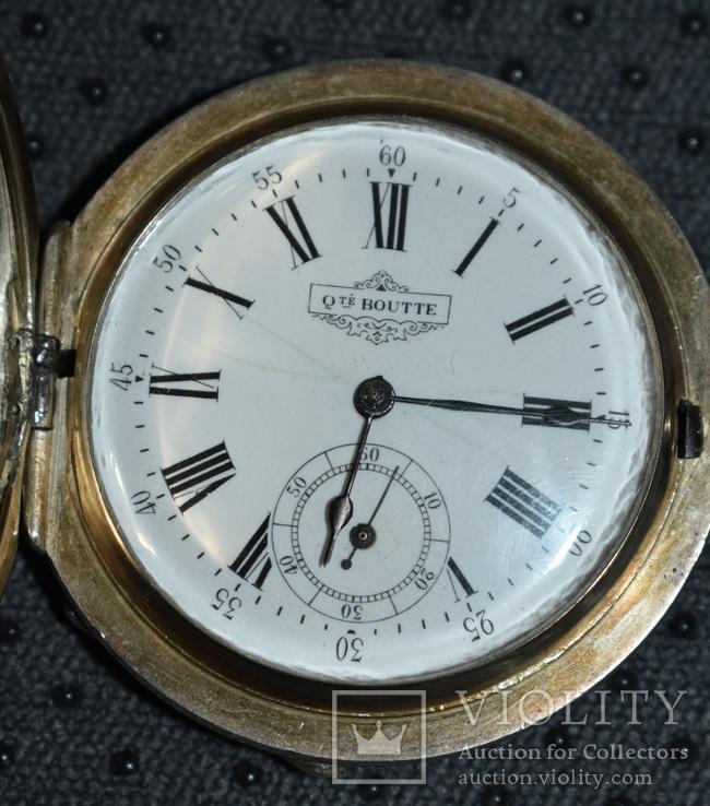 Часы Qualite Boutte серебро 84 проба крупные 121 грамм, фото №7