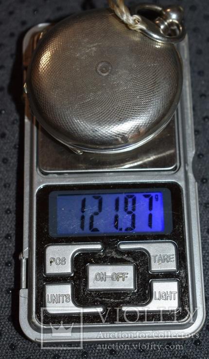 Часы Qualite Boutte серебро 84 проба крупные 121 грамм, фото №13