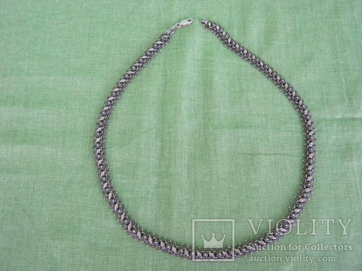 Цепочка серебро 925 ( 27 гр. ) Украина, фото №2