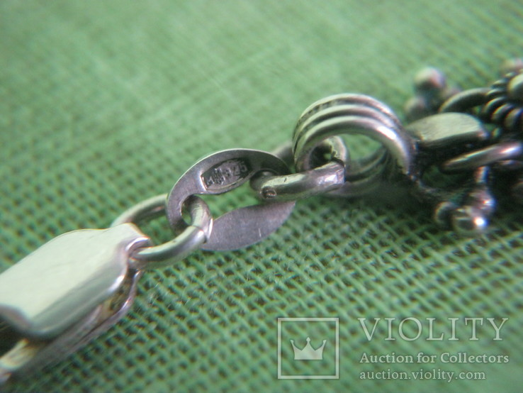 Цепочка серебро 925 ( 27 гр. ) Украина, фото №8