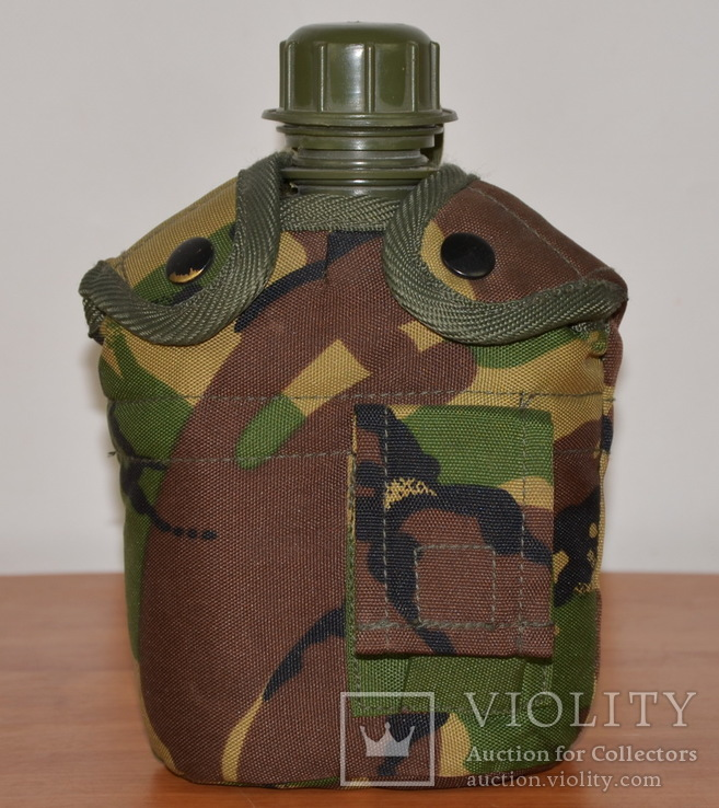 Фляга с казанком фирмы Combat (Англия) Новая., фото №3