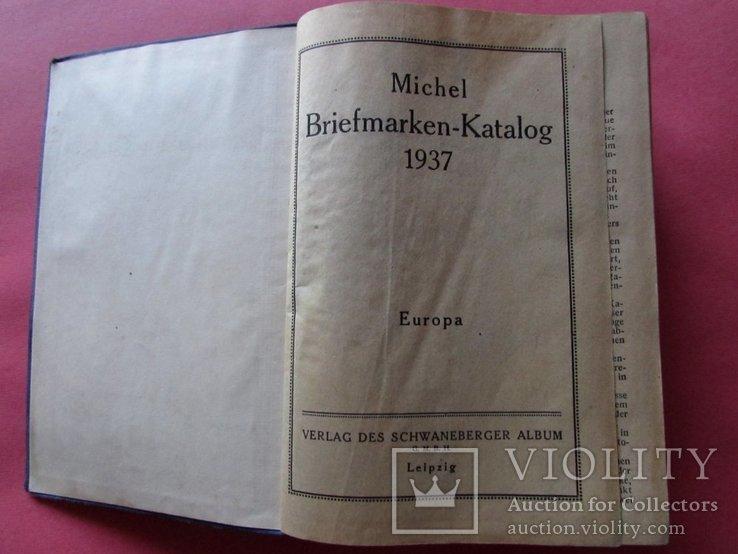 "Каталог ""MICHEL"" марок Европы, за 1937 год., фото №8"