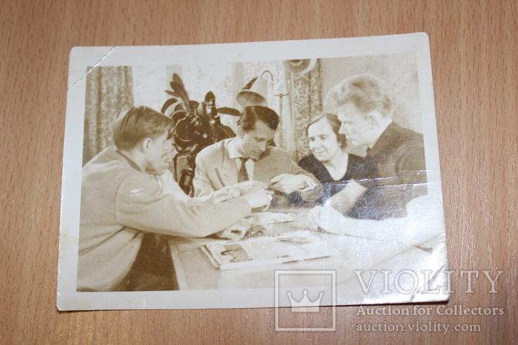 Фото 1961 год Киев  В квартире Лобановского, фото №5