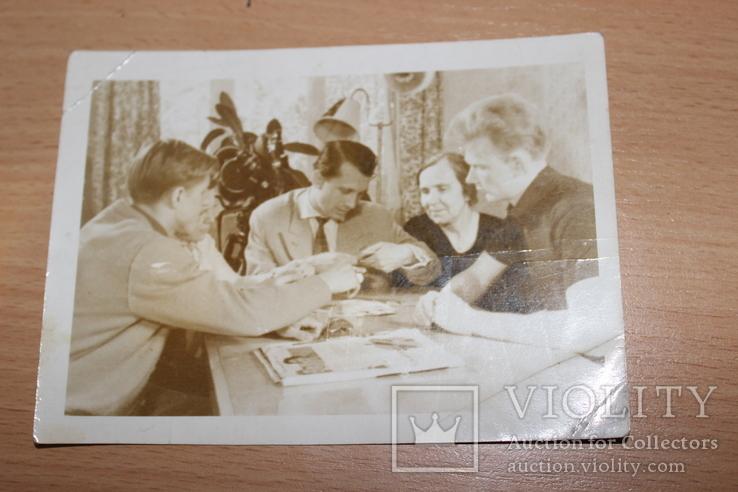 Фото 1961 год Киев  В квартире Лобановского, фото №2