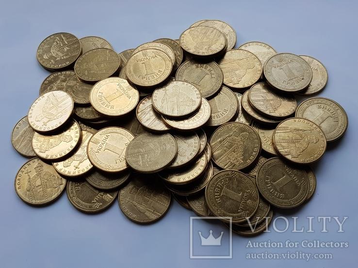 1 гривна Украины 1332 шт(Копилка)., фото №3