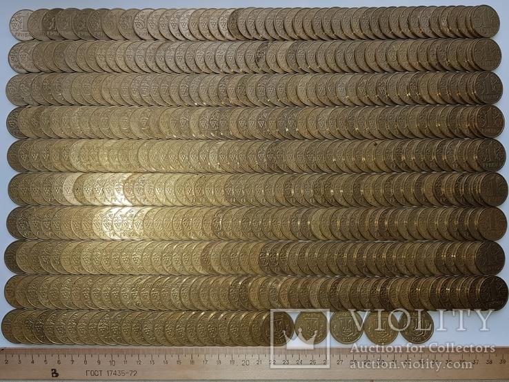 1 гривна Украины 1332 шт(Копилка)., фото №11