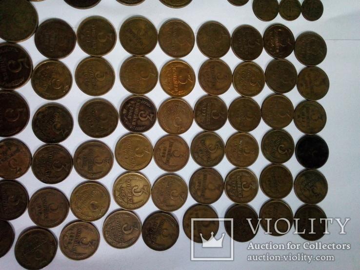Монеты СССР после реформы 193шт, фото №3