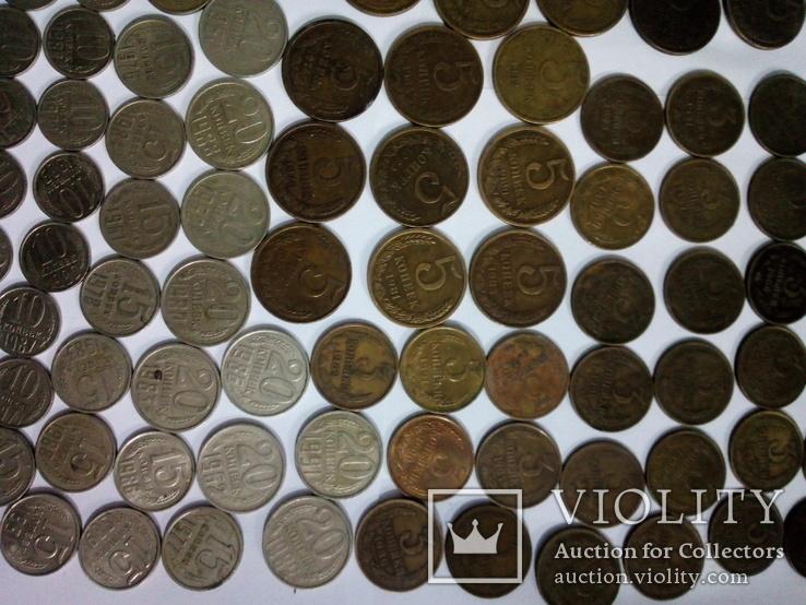 Монеты СССР после реформы 193шт, фото №5