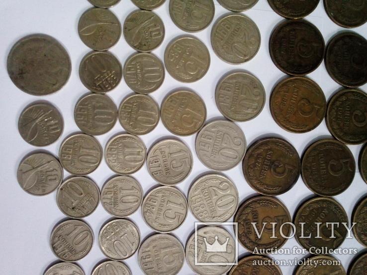 Монеты СССР после реформы 193шт, фото №7