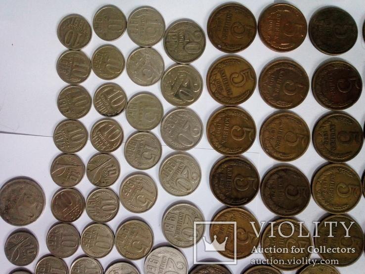 Монеты СССР после реформы 193шт, фото №8