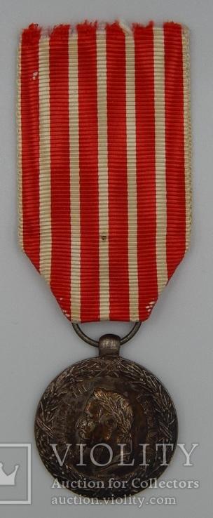 Фрация. Медаль Итальянской кампании 1859 г. Barre., фото №3