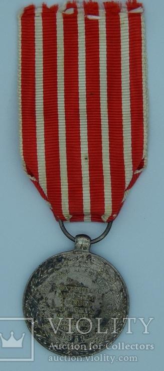 Фрация. Медаль Итальянской кампании 1859 г. Barre., фото №4