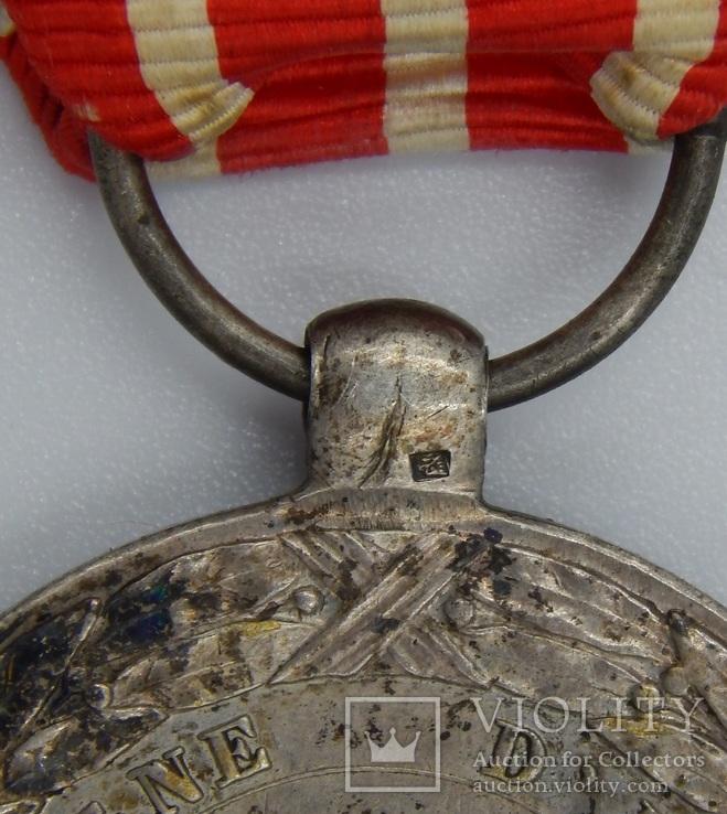 Фрация. Медаль Итальянской кампании 1859 г. Barre., фото №12