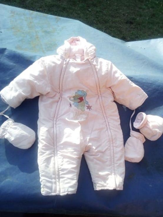 Дитячий комбінезон для дитини 1 рік і менше