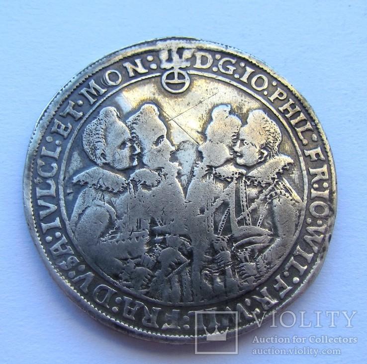 Талер 1614 р. Саксонія-Альтенбург