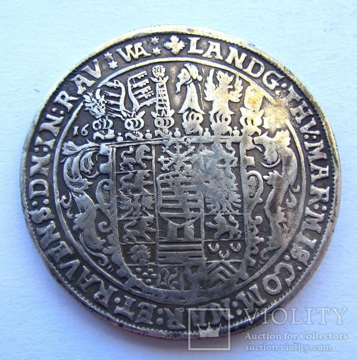 Талер 1614 р. Саксонія-Альтенбург, фото №5