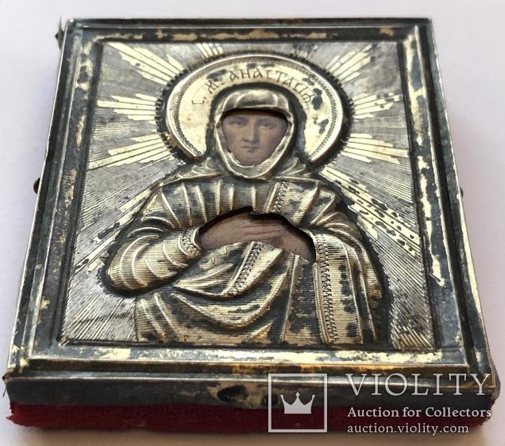Святая Анастасия, 84, 65 на 55мм, фото №3