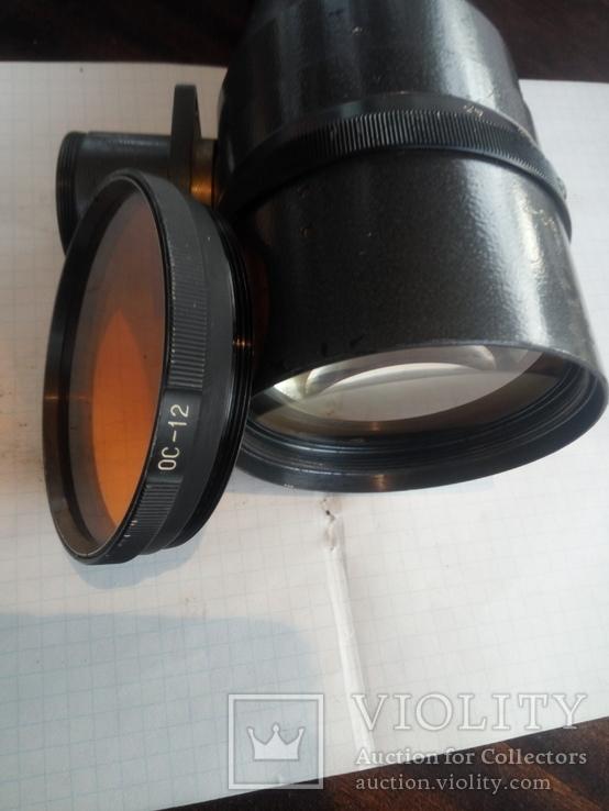 Объектив фс-2  (4.5/300) с светофильтром, фото №8