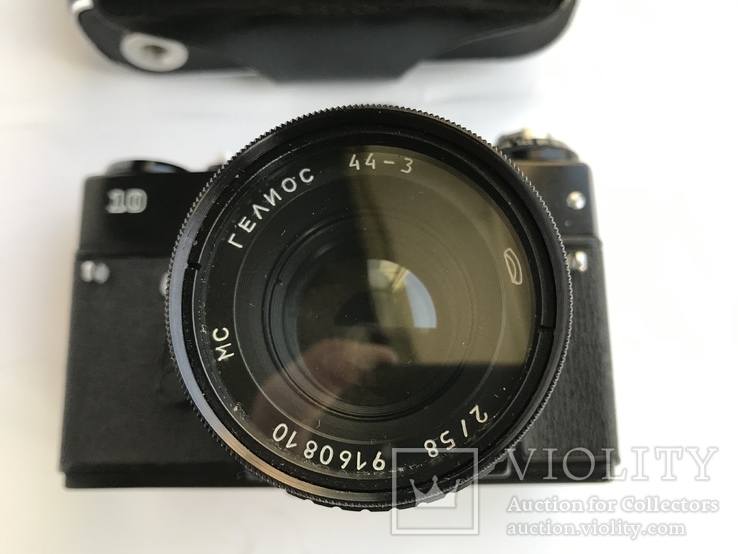 Об'єктив Гелиос 44-3 , Фотоапарат Зенит 10 + Кофр