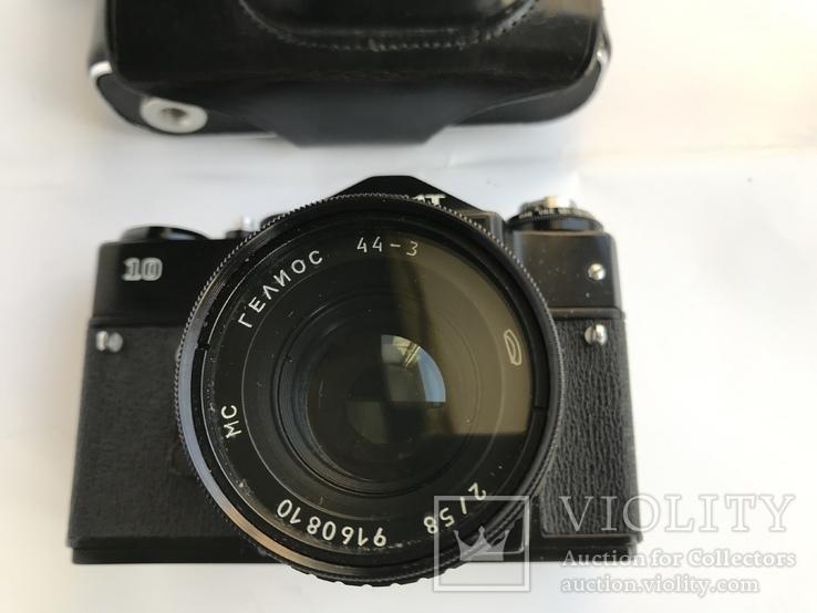Об'єктив Гелиос 44-3 , Фотоапарат Зенит 10 + Кофр, фото №3