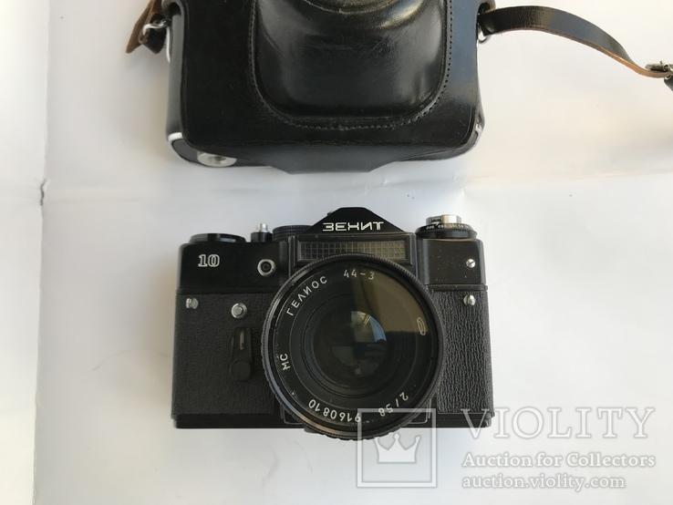 Об'єктив Гелиос 44-3 , Фотоапарат Зенит 10 + Кофр, фото №4