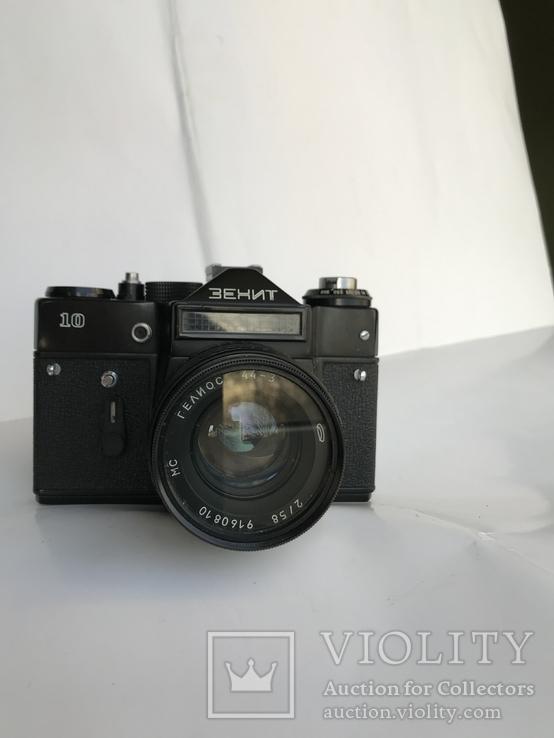 Об'єктив Гелиос 44-3 , Фотоапарат Зенит 10 + Кофр, фото №5