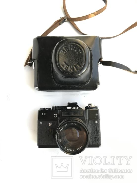 Об'єктив Гелиос 44-3 , Фотоапарат Зенит 10 + Кофр, фото №6