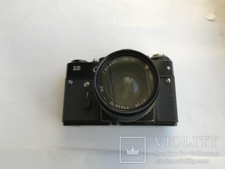 Об'єктив Гелиос 44-3 , Фотоапарат Зенит 10 + Кофр, фото №7
