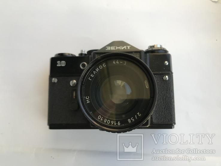Об'єктив Гелиос 44-3 , Фотоапарат Зенит 10 + Кофр, фото №8