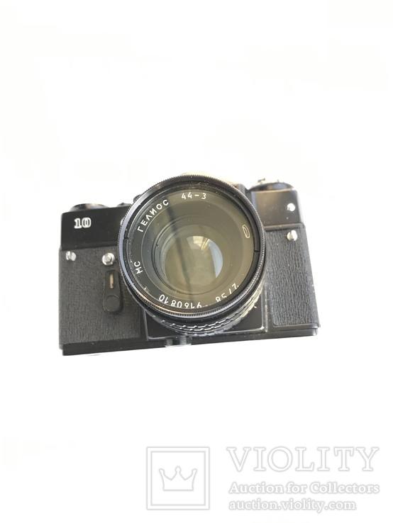 Об'єктив Гелиос 44-3 , Фотоапарат Зенит 10 + Кофр, фото №10