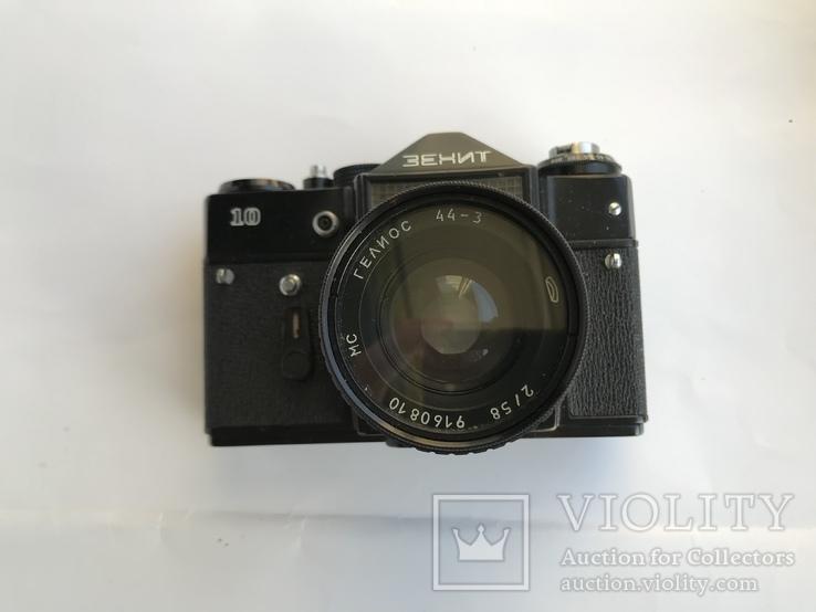Об'єктив Гелиос 44-3 , Фотоапарат Зенит 10 + Кофр, фото №11