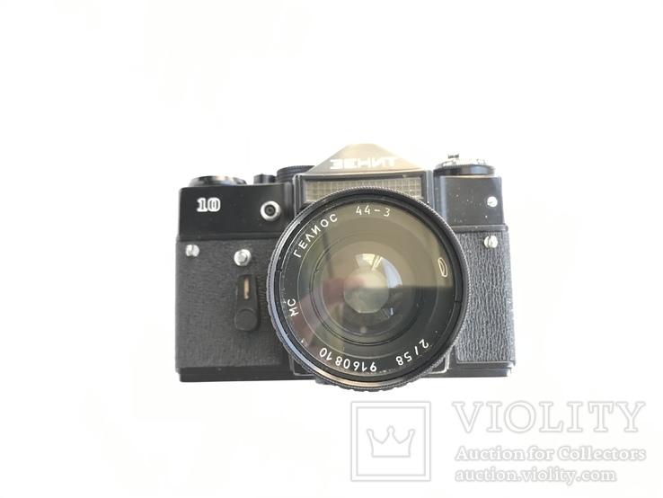 Об'єктив Гелиос 44-3 , Фотоапарат Зенит 10 + Кофр, фото №12