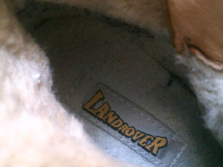 Landrover - фирменные ботинки разм. 40, фото №5