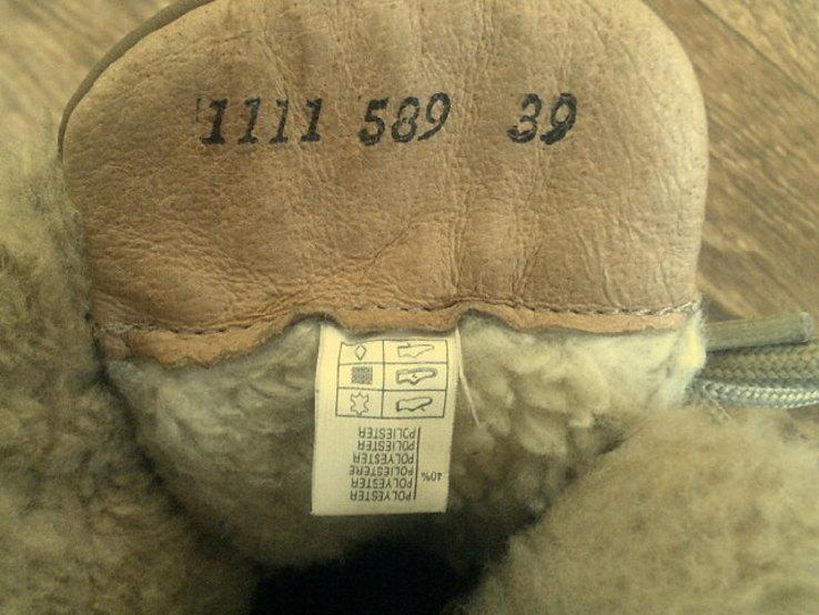 Landrover - фирменные ботинки разм. 40, фото №11